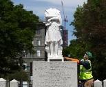 受難のコロンブス像