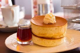 こちらも面白いと思う と、星野珈琲スフレパンケーキ
