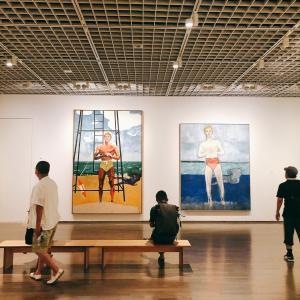 真夏は涼しく快適な催し物へ!ピーター・ドイグ展@東京国立近代美術館