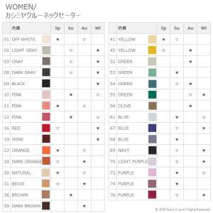【全50色展開!!】UNIQLOカシミヤ100%セーター をパーソナルカラー別のおすすめに分類してみた