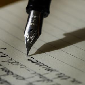 文章を書く習慣を身につけよう、思考・感情を言語化しよう。