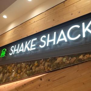 恵比寿でシェイクシャックのハンバーガーを頂く【一旦落ち着き、ほぼ待ち時間なく、食べれる】