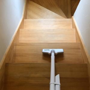 階段そうじにかかる時間は?