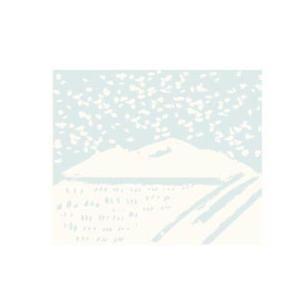 雪景色 イラスト-01yukigeshiki