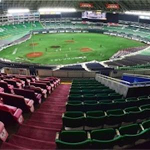 今日からプロ野球にて、観客ありの試合が始まりました。