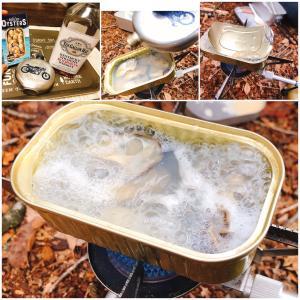 【山レシピ】超簡単!「カキ缶のウィスキー蒸し」