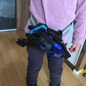 仮面ライダーの変身ベルト購入!