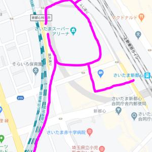 さいたま新都心周辺散歩コース