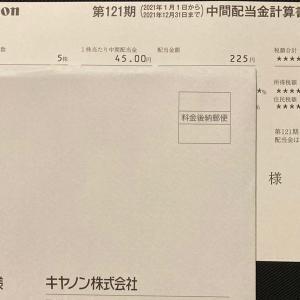 配当_キヤノン (7751) 202106