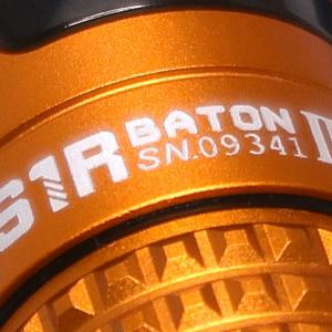 OLIGHT S1R BATON II / CREE XM-L2 (CW) : Orange (Limited Edition)