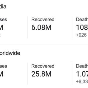 インド アンロック5.0になってました