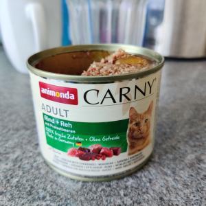 ドイツの猫のご飯はワイルド