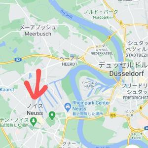 近郊の街Neussが住みやすそうで良かった件