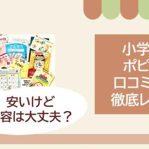 【勘違い!】通信教育「ポピー」小学生の口コミ・評判をブログにレポート