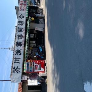 芥川マス釣り場でバーベキュー