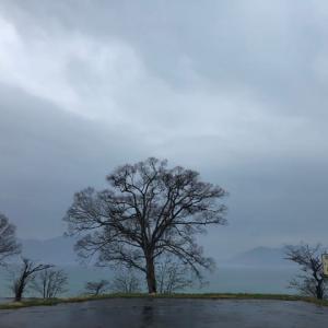 緊急事態宣言中の観光地(田沢湖)