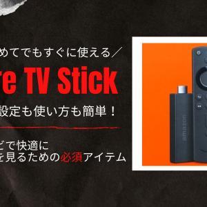 Fire TV Stickは設定も使い方も簡単!これ一つでVODもYouTubeもテレビで視聴可能に