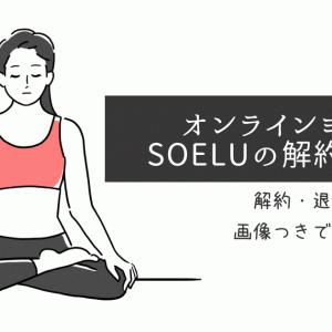 SOELUを解約・退会する方法を画像つきで公式サイトより分かりやすく解説!