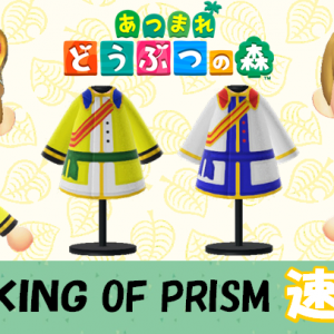 【あつ森  マイデザイン58】『KING OF PRISM(キングオブプリズム)』速水ヒロ風【あつまれどうぶつの森】