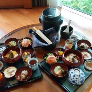 エクシブ箱根離宮2021 インルームダイニング 朝食