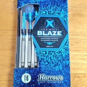 Harrows BLAZE StyleBをレビュー   ドンキで激安で購入したステンレスバレルです