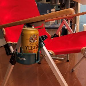☆ これは快適~! コールマンレイチェアでビールを傍らに ☆