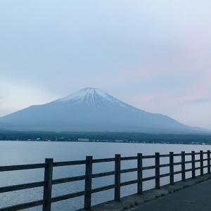 ☆ 山中湖に到着しました ☆