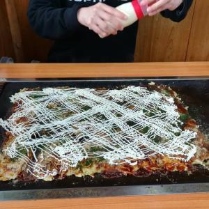 高専ダゴ(巨大お好み焼き)
