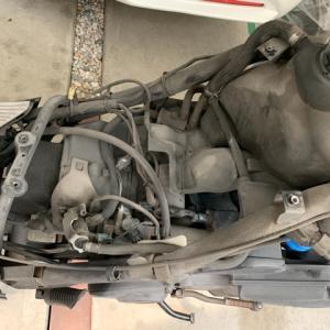 アドレスV125Gエンジン載せ替え日記4