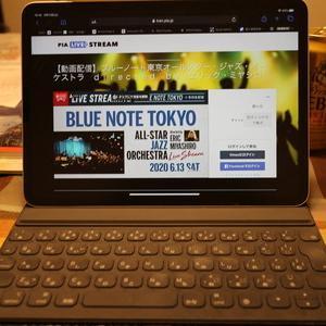 念願のBLUE NOTE TOKYOのライブを初体験・・・ただしLive Streemingでした