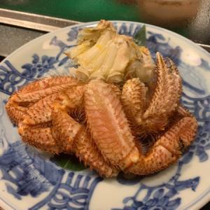 喜寿司:再開したので早速お邪魔しました・・・今回のとびっきりは噴火湾の毛蟹!