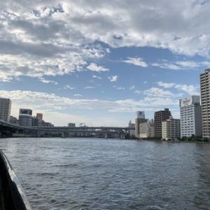 隅田川テラス3キロ:疲労抜きが目標だったが、達成できたのか?