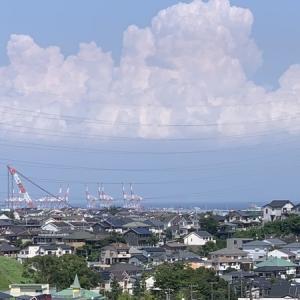 洋光台から根岸湾方面を望む@真夏のドライブ
