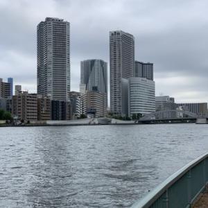 月島川水門テラス連絡橋:テラスの使い勝手がまた良くなった
