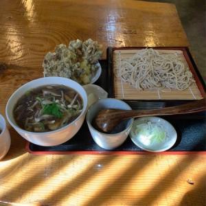 【旧六合村】六合 野のや:きのこ三昧そば天ぷら付き・・・美味しいお蕎麦屋さん発見!