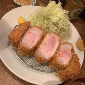 【人形町】富士喜:君は300gの厚切りロースかつを食べたか!