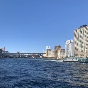 隅田川テラス6キロ:天気晴朗なれども脚遅し・・・久しぶりに通しで6キロ走れた