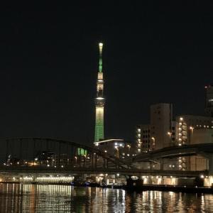 隅田川テラス8キロ:4日目・・・脚は重かったがそれなりに走れた