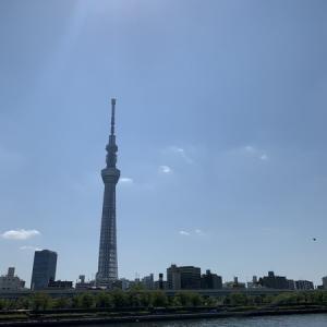 隅田川テラス17キロ:走れるようになってきた・・・正直、うれしい