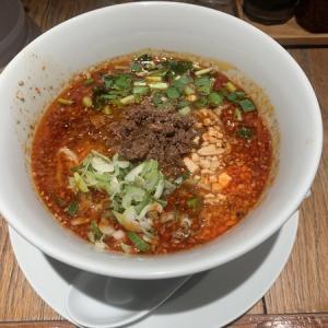 【赤坂見附一木通り】麺 黒椿屋:坦々麺を食べたくて思わず入店!餃子が美味しかった!
