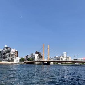 隅田川テラス12キロ:湿度が低いからいいものの