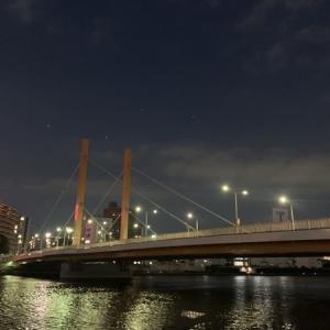 隅田川テラス6キロ:6月1発目は短い距離を軽やかに!