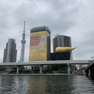 隅田川テラス12キロ:先週に引き続き週末ランナーは今日も浅草方面へ