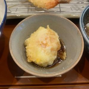 【水天宮前交差点近く】二代目天ぷらすずき人形町店:昼過ぎの空いている時間に上天ぷら定食をいただく