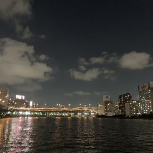 隅田川テラス12キロ:今回はこれまでにないペースでした
