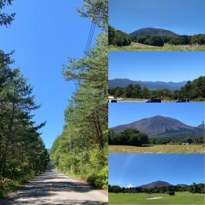 浅間高原ラン15キロ:気持ちいい青空の下、歩かずに完走!