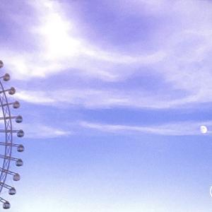 月の満ち欠けと観覧車