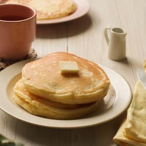 米粉パンケーキミックス4種類を焼き比べ♪
