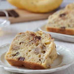 米粉レシピ:チョコバナナケーキ(グルテンフリーのパウンドケーキ)
