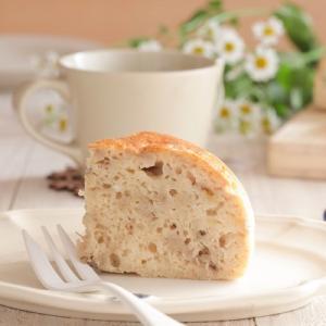 米粉レシピ:完熟バナナ消費♪炊飯器で作る米粉のバナナケーキ。